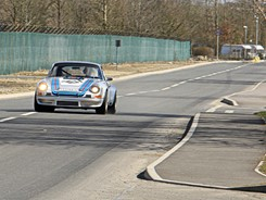 Porsches head for Westcott Venture Park